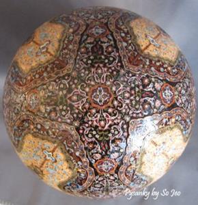 Detail Image for art Hereke Turkish Rug Pysanka