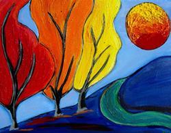 Art: Seasons RIP from Beth Fiedel by Artist Elizabeth Paige VanSickle