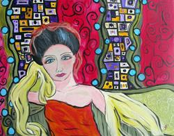Art: My Tina's Geisha by Artist Elizabeth Paige VanSickle
