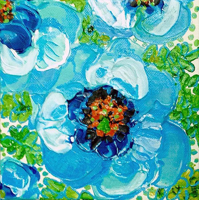 Art: Himalayan Blue by Artist Alma Lee
