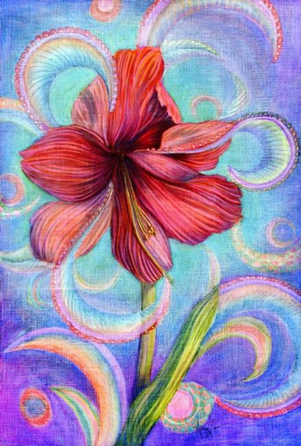 Art: Paisley Amore' by Artist Alma Lee