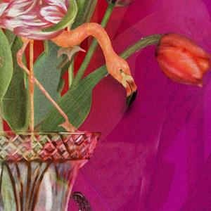 Detail Image for art Tip Toeing thru the Tulips