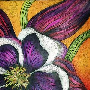 Detail Image for art Columbine a Flower of Remembrance