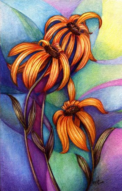 Art: Three Susans by Artist Alma Lee