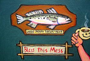 Detail Image for art Jack's Cat Would Eat No Trout, His Dog Would Eat No Spam