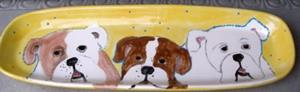Detail Image for art Large bully Platter