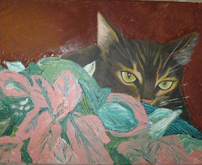Art: Hector and the Houseplant by Artist Vic Ki Lynn