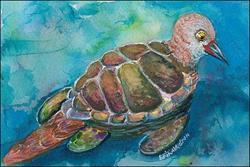 Art: My Turtledove by Artist Erika Nelson