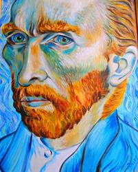 Art: My Very Own Vincent by Artist Susi Franco