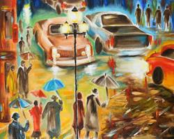 Art: In Italy, Even The Rain Is Beautiful by Artist Susi Franco