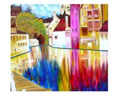 Art: A River Runs Through Treviso by Artist Susi Franco