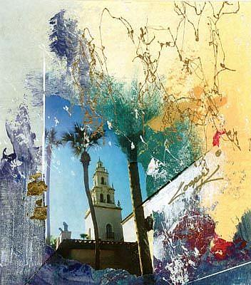 Art: STEEPLE by Artist Dottie Cooper Katz