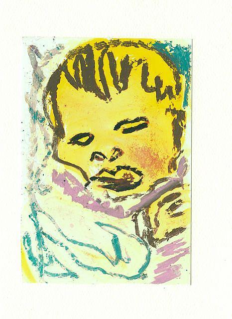 Art: Baby 4 by Artist Gabriele Maurus