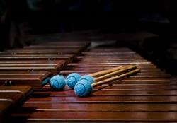 Art: Marimba by Artist Richard Holland