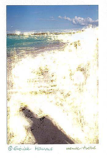 Art: unique card number twelve by Artist Gabriele Maurus