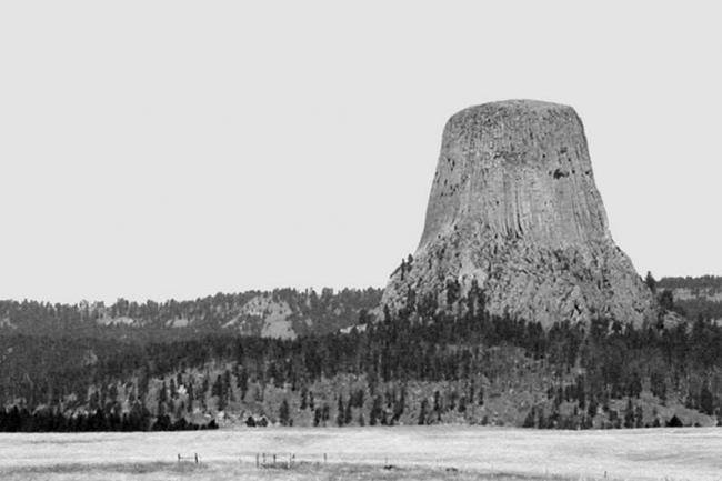 Art: Devil's Tower 1 by Artist Kristi Schueler
