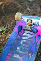 Art: Skateboard by Artist Kelli Ann Dubay