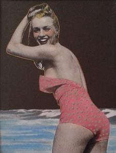 Detail Image for art Mid Century Modern Swimsuit