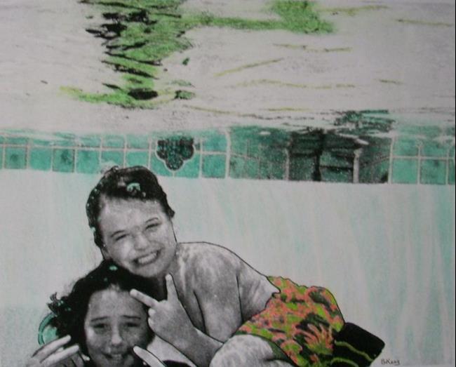 Art: Grandson & Grandot by Artist Sherry Key