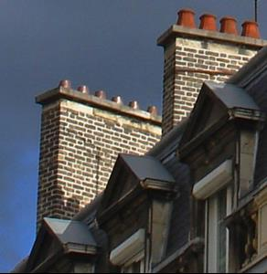 Detail Image for art Chimney tops–stormy day