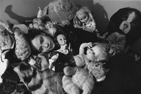 Girl with Dolls by Virigina Ann Zuelsdorf
