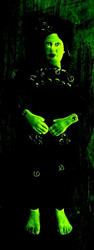 Art: Bride of Frankenstein by Artist Sherry Key