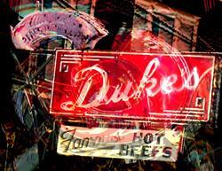 Art: Duke's Retro Rest by Artist Alma Lee