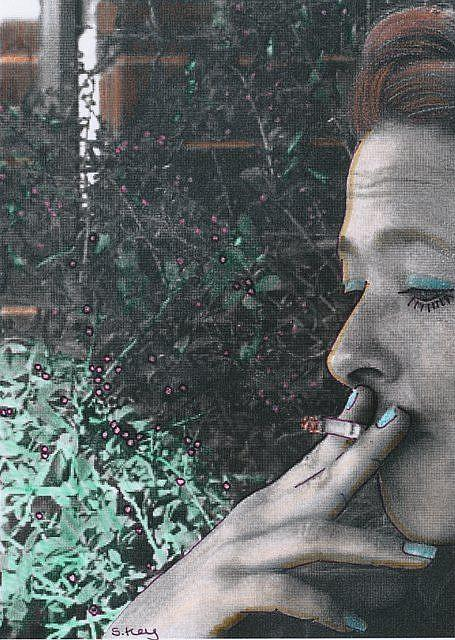 Art: SMOKING ALLOWED HERE-Lecture Included by Artist Sherry Key
