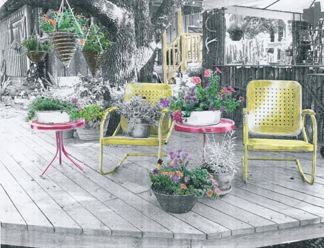 Art: The Deck by Artist Sherry Key