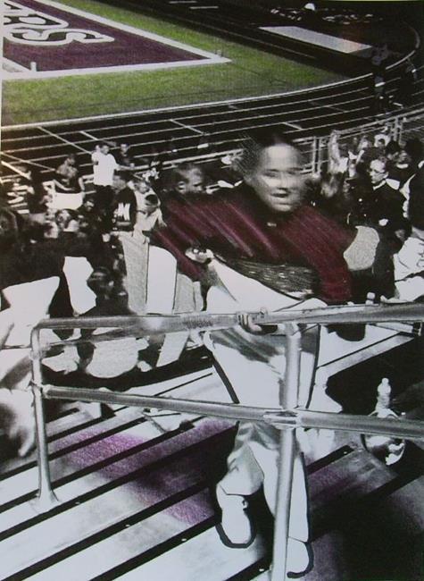 Art: High School Marching Band by Artist Sherry Key