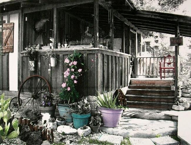Art: Front Porch by Artist Sherry Key