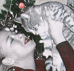 Detail Image for art Christmas Eve with Psycho
