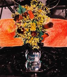 Art: Wedding Flowers by Artist Sherry Key