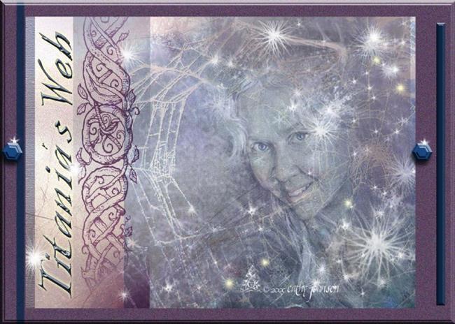 Art: Titania's Web by Artist Cathy  (Kate) Johnson