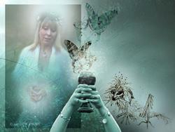 Art: Fey Mist by Artist Cathy  (Kate) Johnson