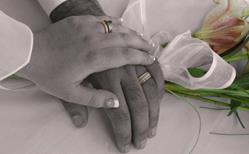 Art: Wedding rings by Artist Carissa M Martos