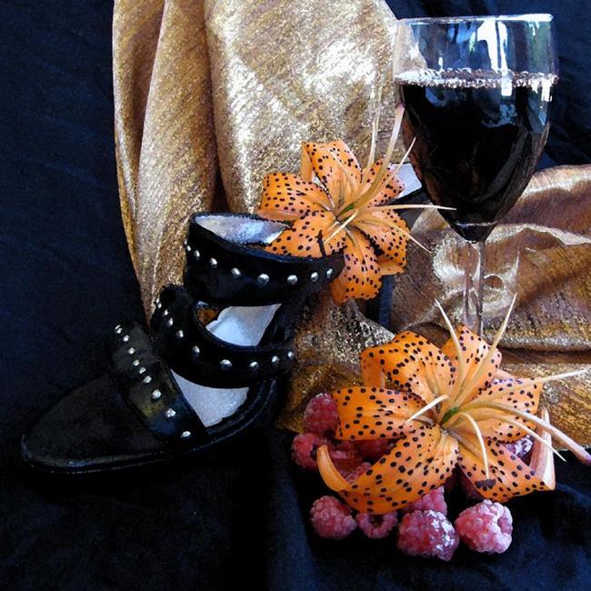 Art: Black Heels by Artist Carissa M Martos