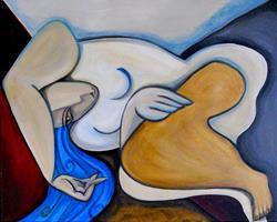 Art: Destiny In Repose by Artist Roy Guzman