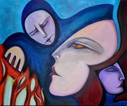 Art: Altered Ego by Artist Roy Guzman