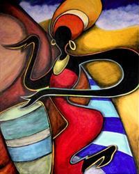 Art: Interlude by Artist Roy Guzman
