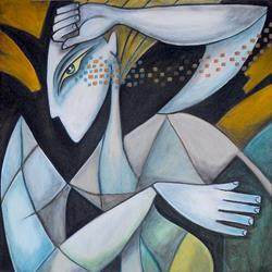 Art: Woman In Motion3 by Artist Roy Guzman