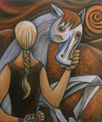 Art: Sugar by Artist Roy Guzman