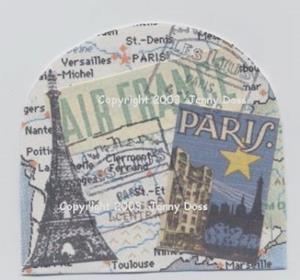 Detail Image for art Travel Snow-Globe