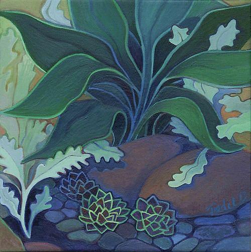 Art: Rocky Spot by Artist Elizabeth Fiedel