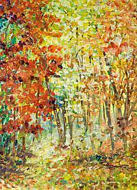 Art: Fall Colors by Artist Delilah Smith