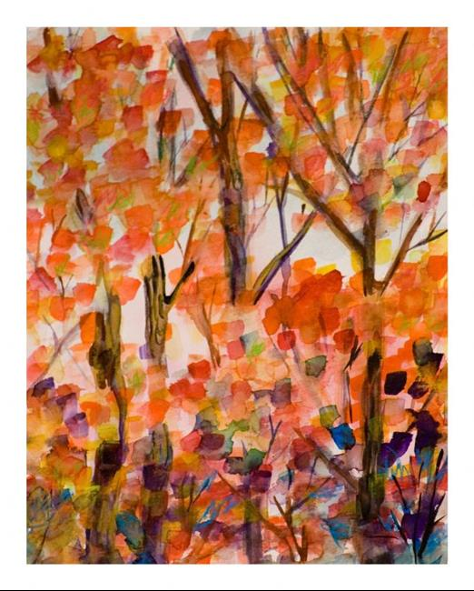 Art: Fall Colors,SOLD by Artist Delilah Smith