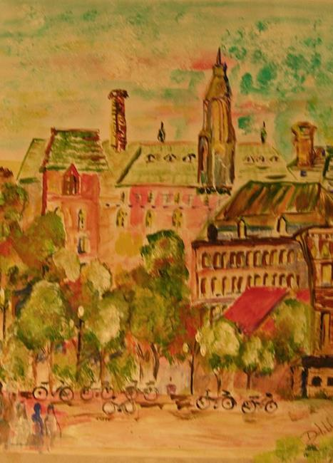 Art: Montreal, SOLD by Artist Delilah Smith