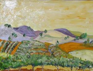Detail Image for art The Vineyard
