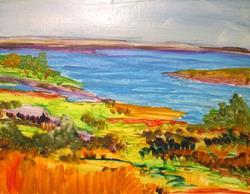 Art: Lake View by Artist Delilah Smith