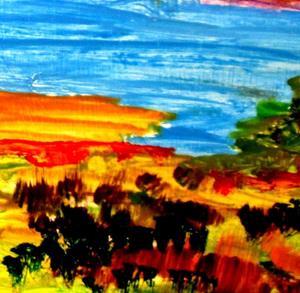 Detail Image for art Lake View